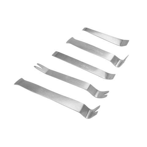 Набор инструментов для снятия обшивки (сталь, 5 предметов)