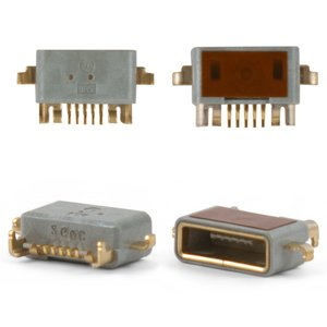 Charge Connector for Sony Ericsson LT15i, LT18i, MT11i Xperia neo V, MT15i Xperia Neo, X12; Sony MT25 Xperia Neo L Cell Phones, (5 pin, micro USB type-B)