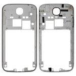 Housing Middle Part Samsung I9500 Galaxy S4, I9505 Galaxy S4, (grey)