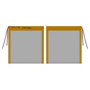 Battery, (104 mm, 86 mm, 2.8 mm, Li-ion, 3.7 V, 2300 mAh)