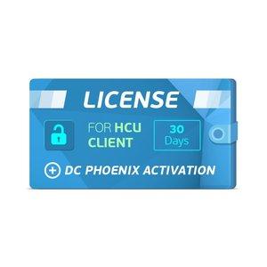 HCU Client 30 Days License + DC Phoenix Activation
