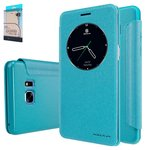 Case Nillkin Sparkle laser case compatible with Samsung N930FGalaxy Note 7, (mint colour , flip, PU leather, plastic) #6902048150447