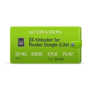 Activación DC-Unlocker para Rocker Dongle (Lite)