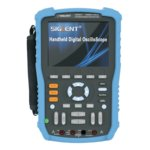 Osciloscopio digital portátil SIGLENT SHS810