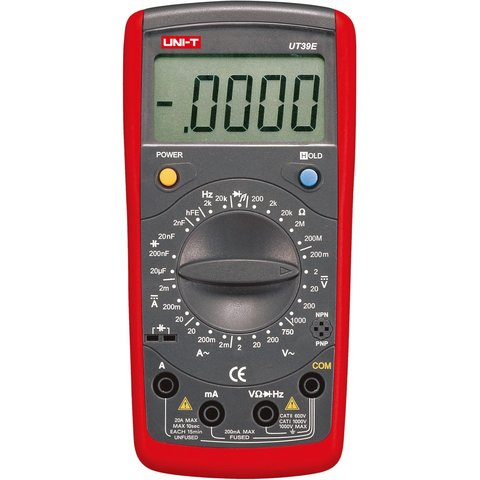 Цифровой мультиметр UNI-T UT39E