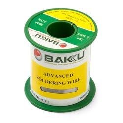 Припой BAKU BK-10005, Sn 97% ,Ag 0.3%, Cu 0.7%, Flux 2%, 0.5 мм, 100 г