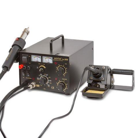 Термоповітряна паяльна станція AOYUE 909 з функцією блока живлення + паяльник