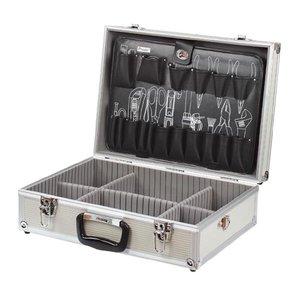 Ящик для инструментов c алюминиевым каркасом и 1 перегородкой  Pro'sKit 8PK-735N
