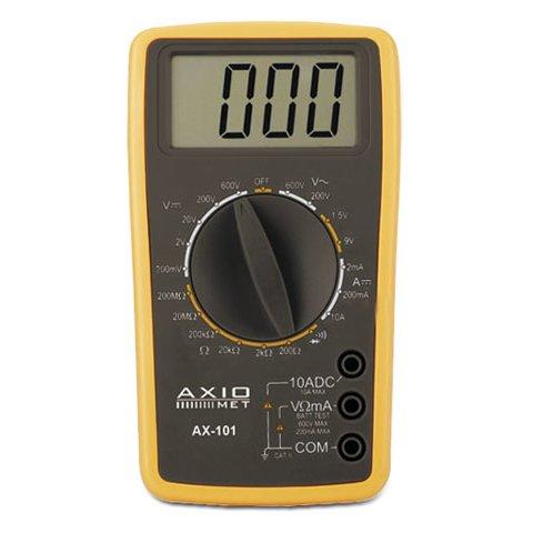 Цифровий мультиметр AXIOMET AX 101
