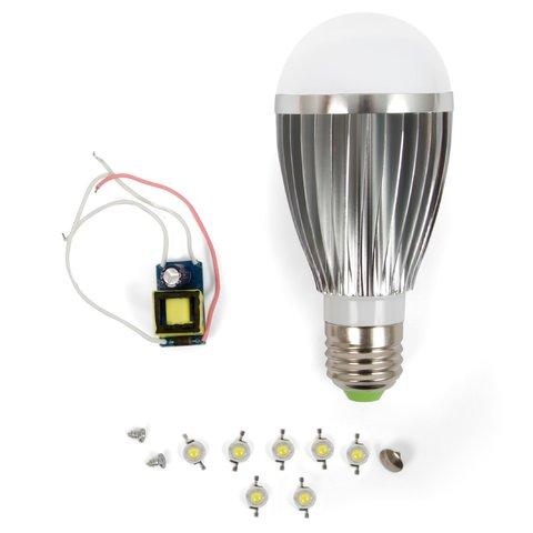 Комплект для збирання LED лампи SQ Q03 E27 7 Вт – теплий білий