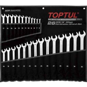 Набор гаечных ключей TOPTUL GPAA2602
