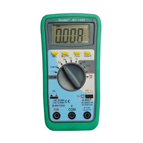Цифровий мультиметр Pro'sKit MT-1260