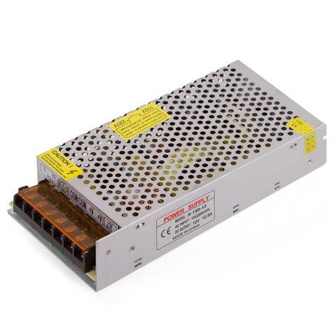 LED Strip Power Supply 12 V, 12.5 A (150 W), 110-220 V